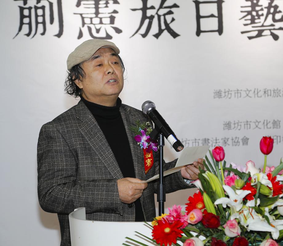 《一期一会—蒯宪旅日艺术交流汇报展》在中百美术馆隆重开幕